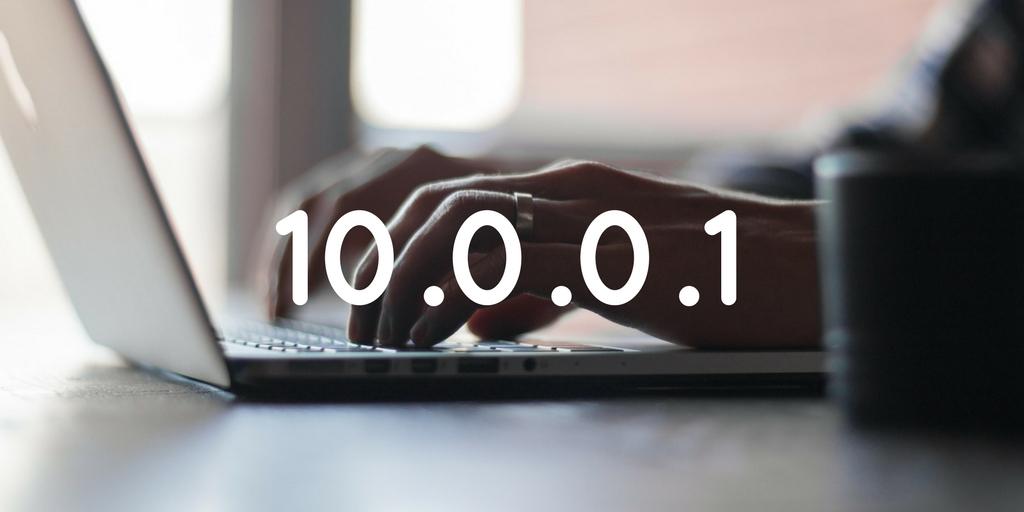 login to 10.0.0.1